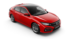 roter Honda Civic