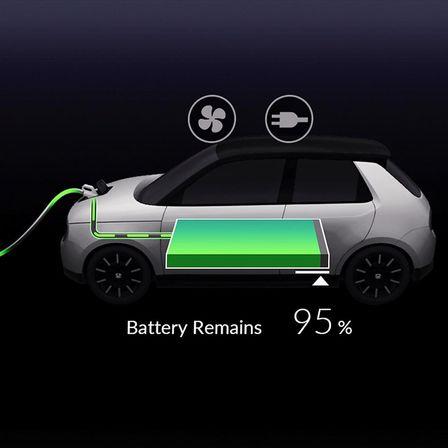 Batterie des Honda e Prototype