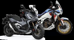 Adventure Modellpalette Motorrader Honda