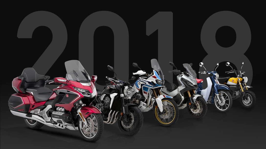 Honda Modelle 2018