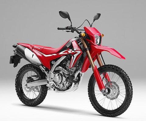 übersicht Crf250l Adventure Modellpalette Motorräder Honda