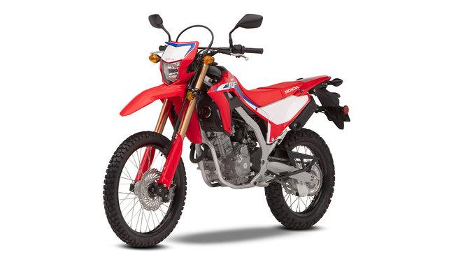Honda CRF300L, leichter