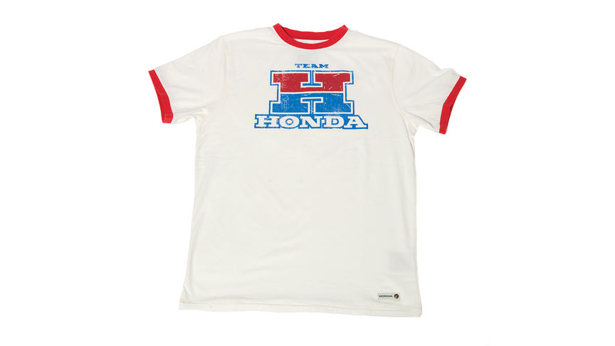 Team Honda T-Shirt in weiß