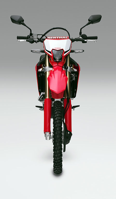 CRF450L, Frontansicht