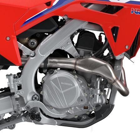 CRF450R, Nahaufnahme des Motors
