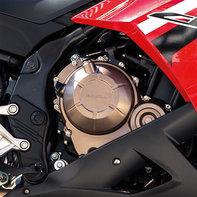 CBR500R-Motorgehäuse in Bronze