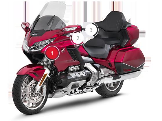 Ubersicht Honda Gold Wing Tourer Sporttourer Honda Motorrader