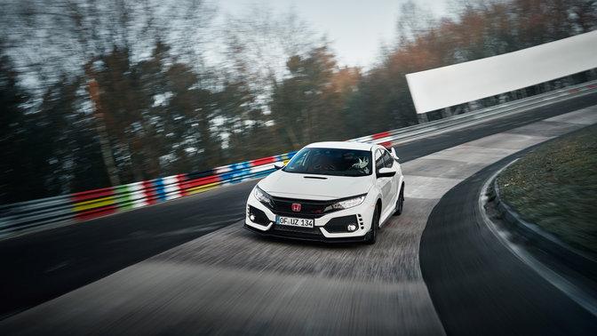 Civic Type R 2017 erzielt Fronttriebler-Rundenrekord
