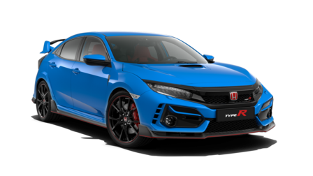 blauer Honda Civic Type R
