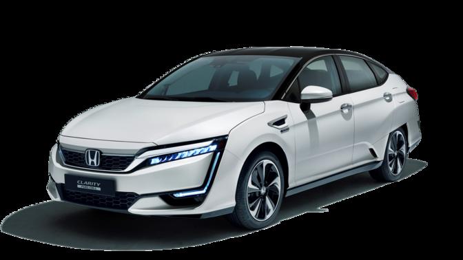 weißer Honda Clarity