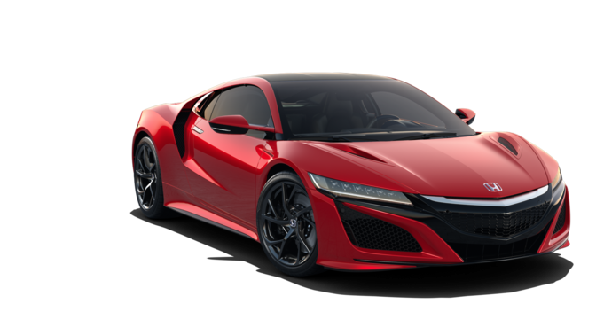 roter Honda NSX Frontansicht