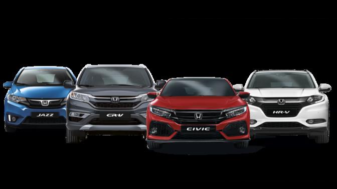 Honda Modell Ubersicht Neuwagen Honda De