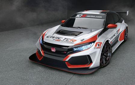 Jas Motorsport Prasentiert Neuen Honda Civic Type R Tcr 2018