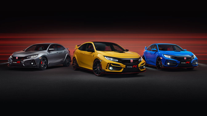 Civic Type R GT, Sport Line und Limited Edition