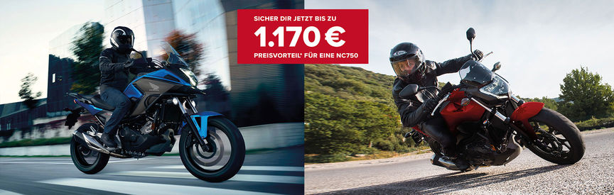 Bild zum Angebot: Your way to ride: Hallo NC750!