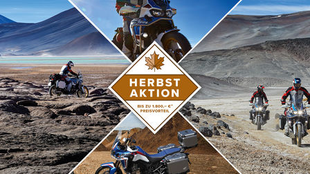 Honda Africa Twin Herbstaktion