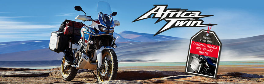 Africa Twin Koffersatz-Aktion
