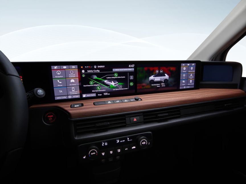 control screen on dashboard